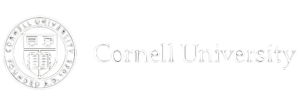 Logo acknowledging support from Cornell University