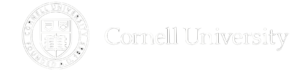 Seal and name of Cornell University.